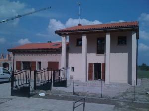 Progetto Argenta in costruzione