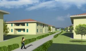 Campus universitario passaggio interno