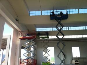 Realizzazione capannone CETRA - Archistruttura